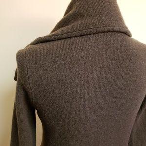 J. Crew Factory Sweaters - J. Crew Factory Wool Cardigan Zip Up Sweater, sz S